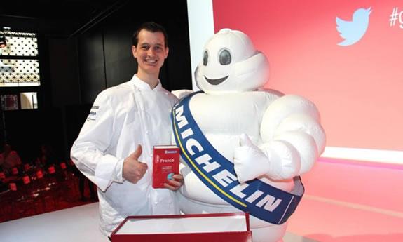 Ludovic Kientz ; fier de décrocher une étoile Michelin pour le Crocodile